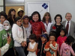Agosto 21 de 2011 | Visita honorífica de Kim Phuc, embajadora de UNICEF