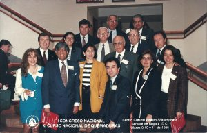 Marzo 9 al 11 de 1995 | I Congreso Nacional y Curso Nacional de Quemaduras