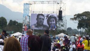 Septiembre 7 de 2017 | Visita Papa Francisco a Colombia: Participación en la Eucaristía en el Parque Metropolitano Simón Bolívar, con el testimonio del paciente Hector Ortíz y la Dra Linda Guerrero